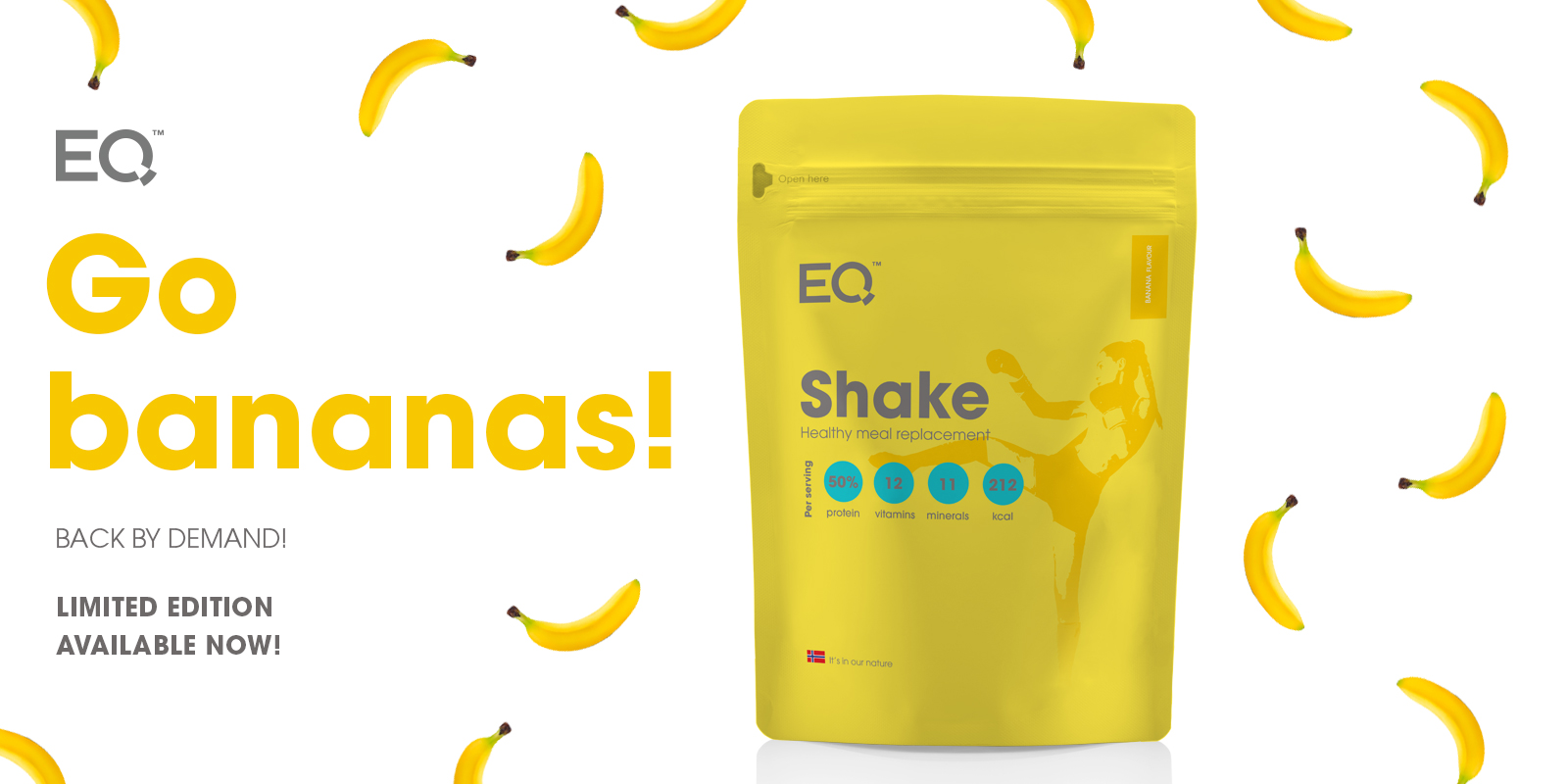 EQ Banana Shake