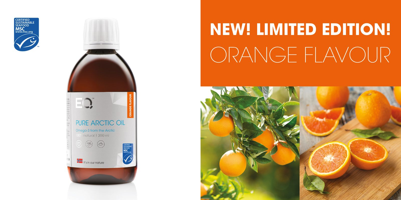 New EQ Pure Arctic Oil Orange