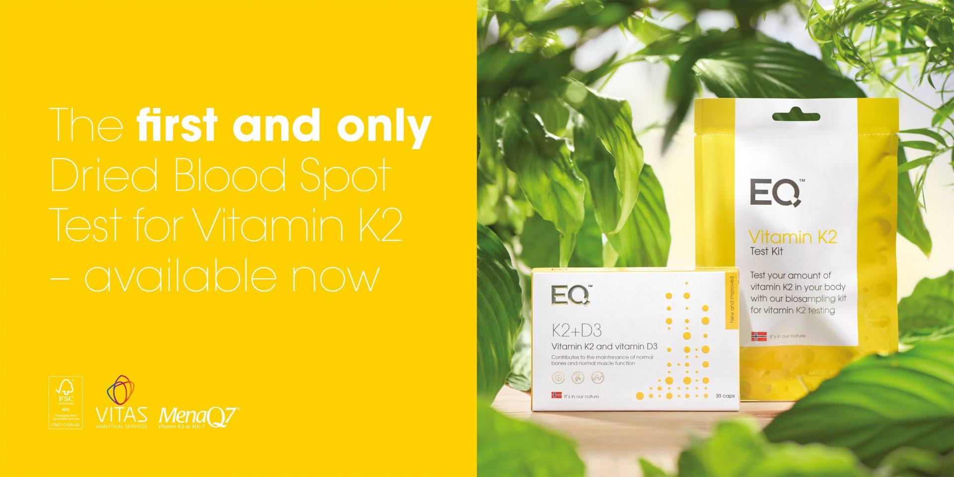 EQ K2+D3 Vitamin