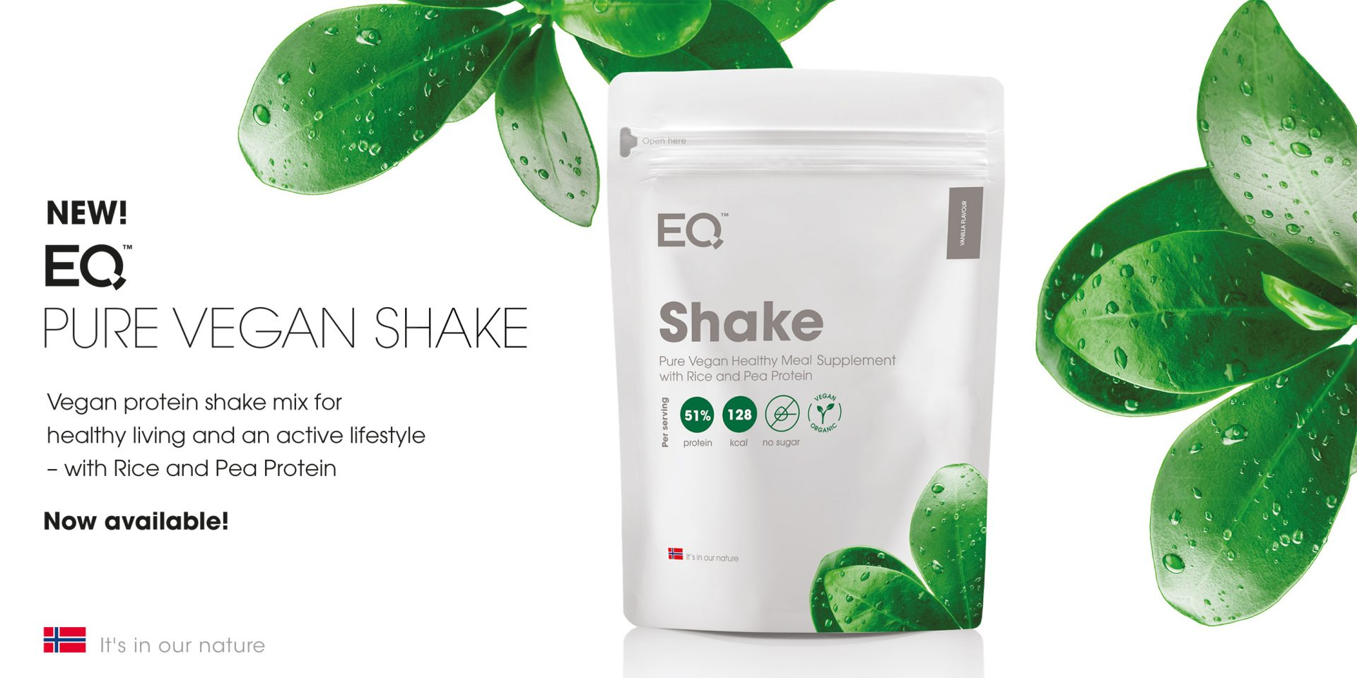 EQ Pure Vegan Shake